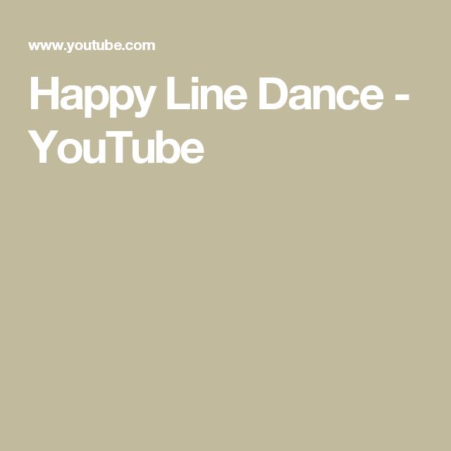 Happy Line Dance - YouTube
