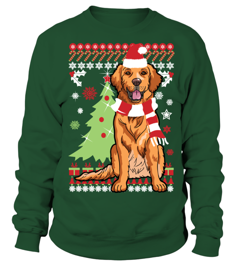 Golden Retriever Christmas Sweater . Limited Time Only - Not available in  stores. This