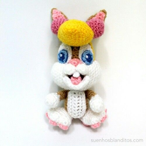 free looney tunes crochet pattern Archives • One's Creative Mind   500x500