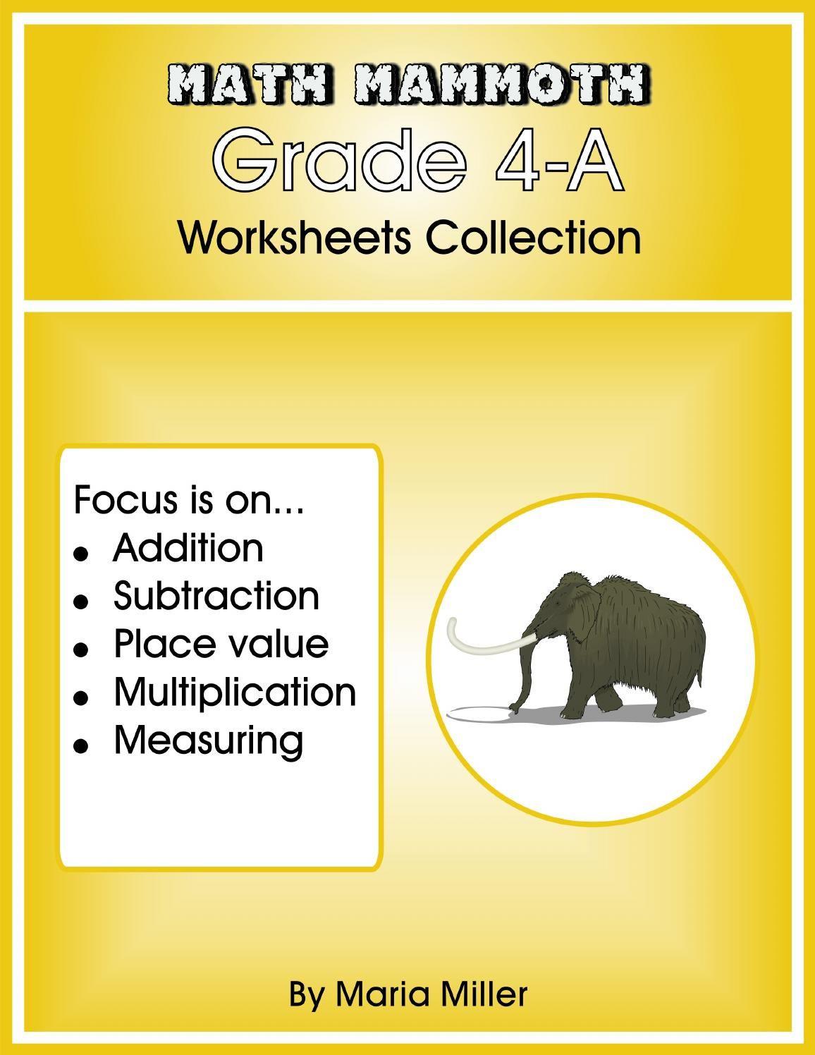 Grade 4a Worksheets