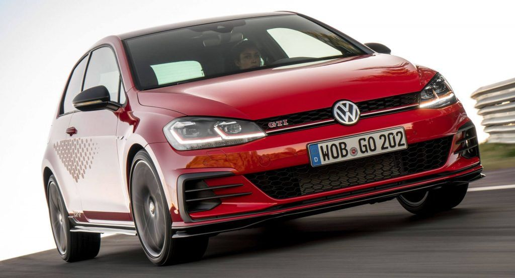 a01b2cb3 VW Golf GTI TCR Unveiled As A 286HP FWD Golf R Alternative ...
