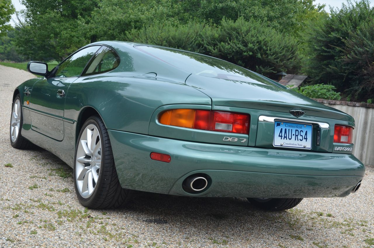 this 2000 aston martin db7 vantage coupe has one owner and 19k