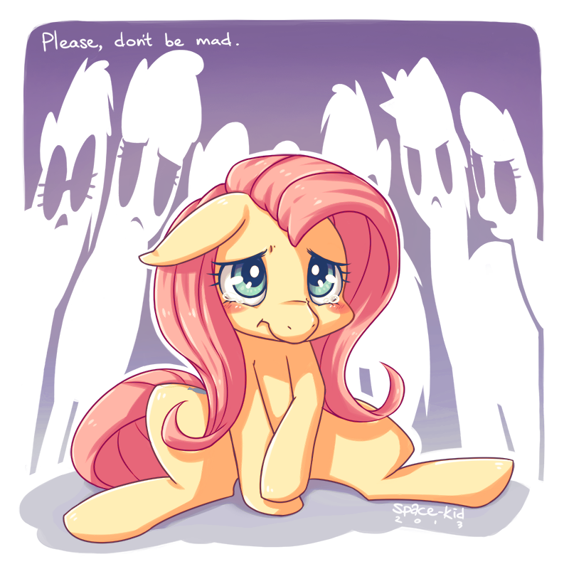 All Mixed Up Fluttershy by on