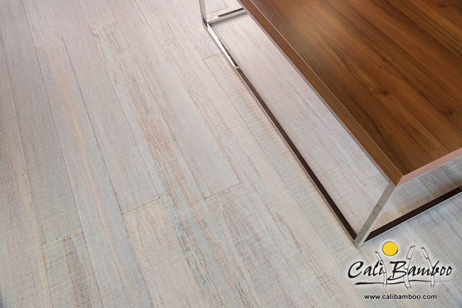 White Wood Floors - Rustic Beachwood Fossilized® | by Cali Bamboo - White Wood Floors - Rustic Beachwood Fossilized® By Cali Bamboo