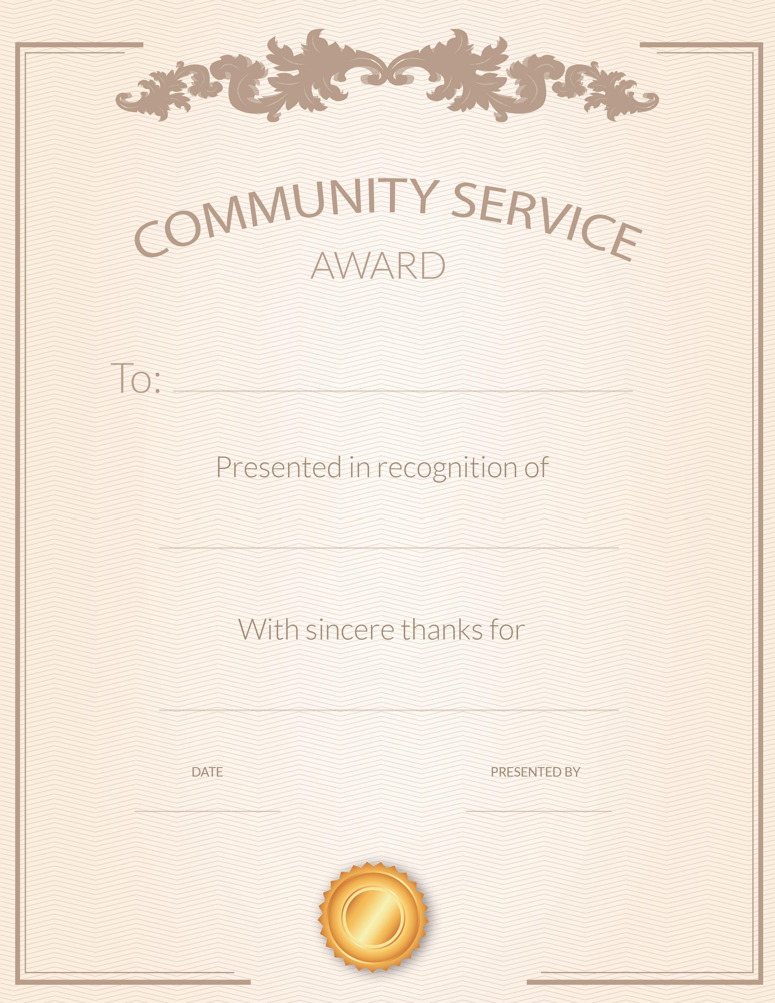 free volunteer appreciation certificates signup com volunteer