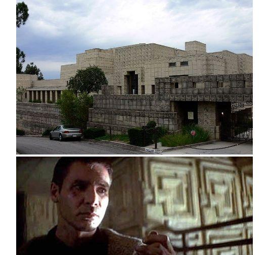 Bladerunner Frank Lloyd Wright Ennis House