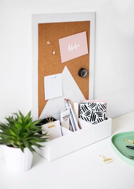 10 Desk Organizers You Can Make That Are Prettier Than What You Can Buy -   18 diy Room organizers ideas