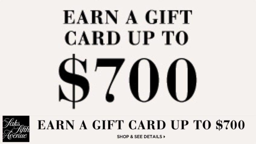 saks gift card discount