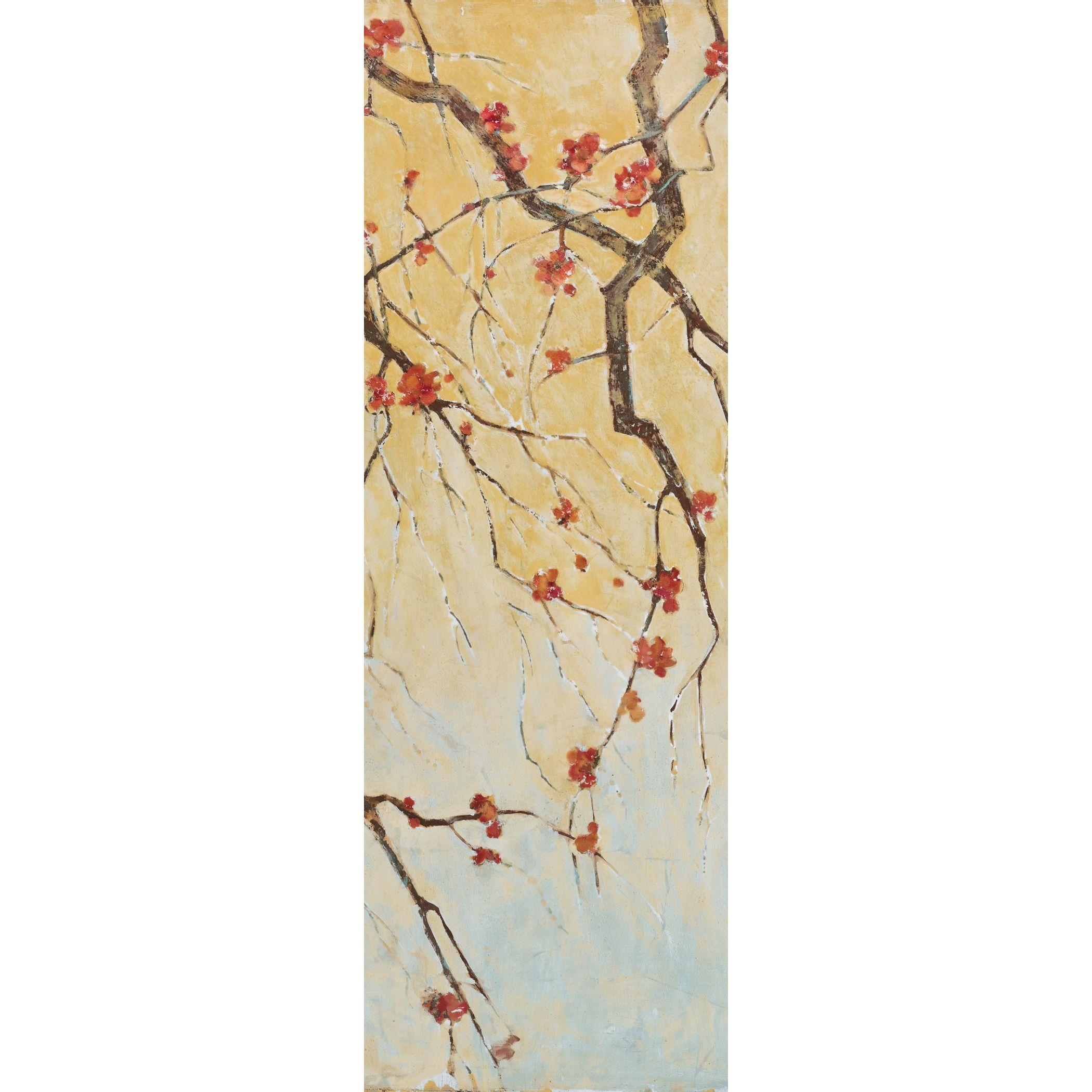 Portfolio Canvas Decor Elinor Luna \'Blossom Panel I\' Framed Canvas ...