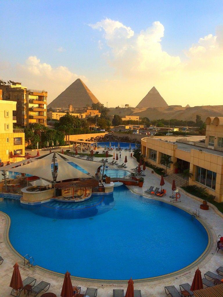 Le Meridien Pyramids Hotel Spa El Remaya Square Giza 12561 Kair Egipt Egypt Egypt Travel Pyramids Egypt