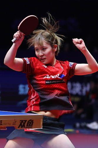 卓球】平野美宇 可愛い画像まとめ - NAVER まとめ | Table tennis, Badminton, Beauty girl