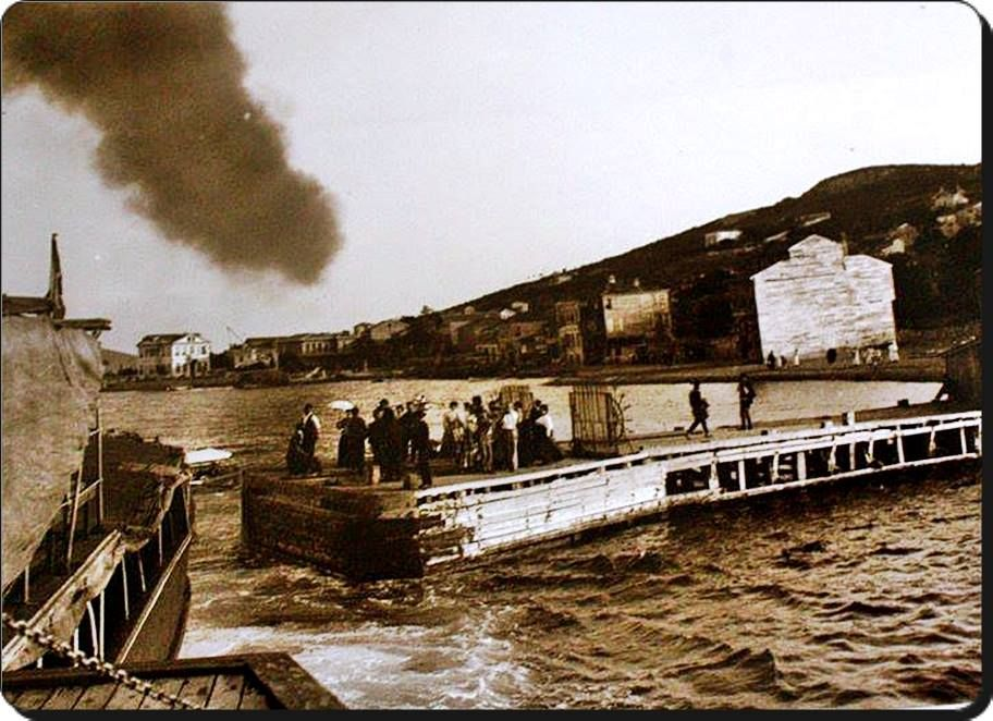 Kınalıada iskelesi - 1890 lar