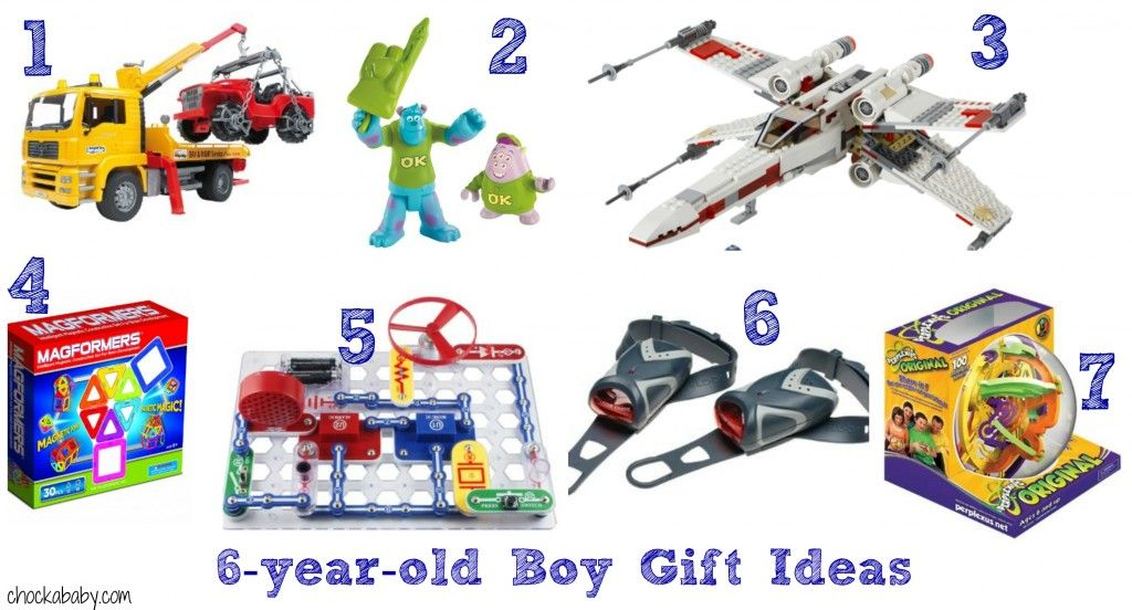 Gift Ideas For 6 Year Old Boys From Chockababy
