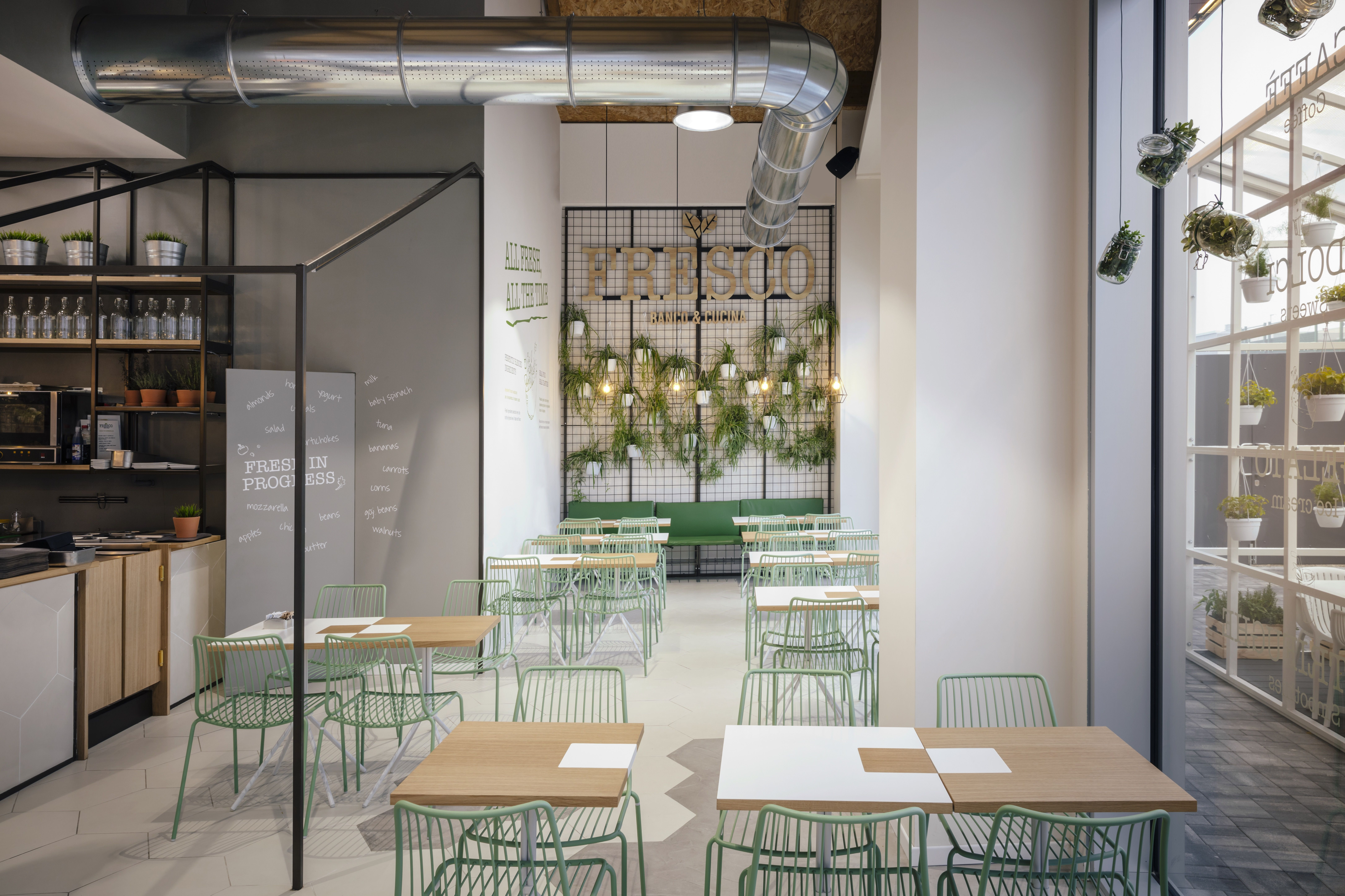 Nolita chair for FRESCO banco & cucina The project starts from the idea of the