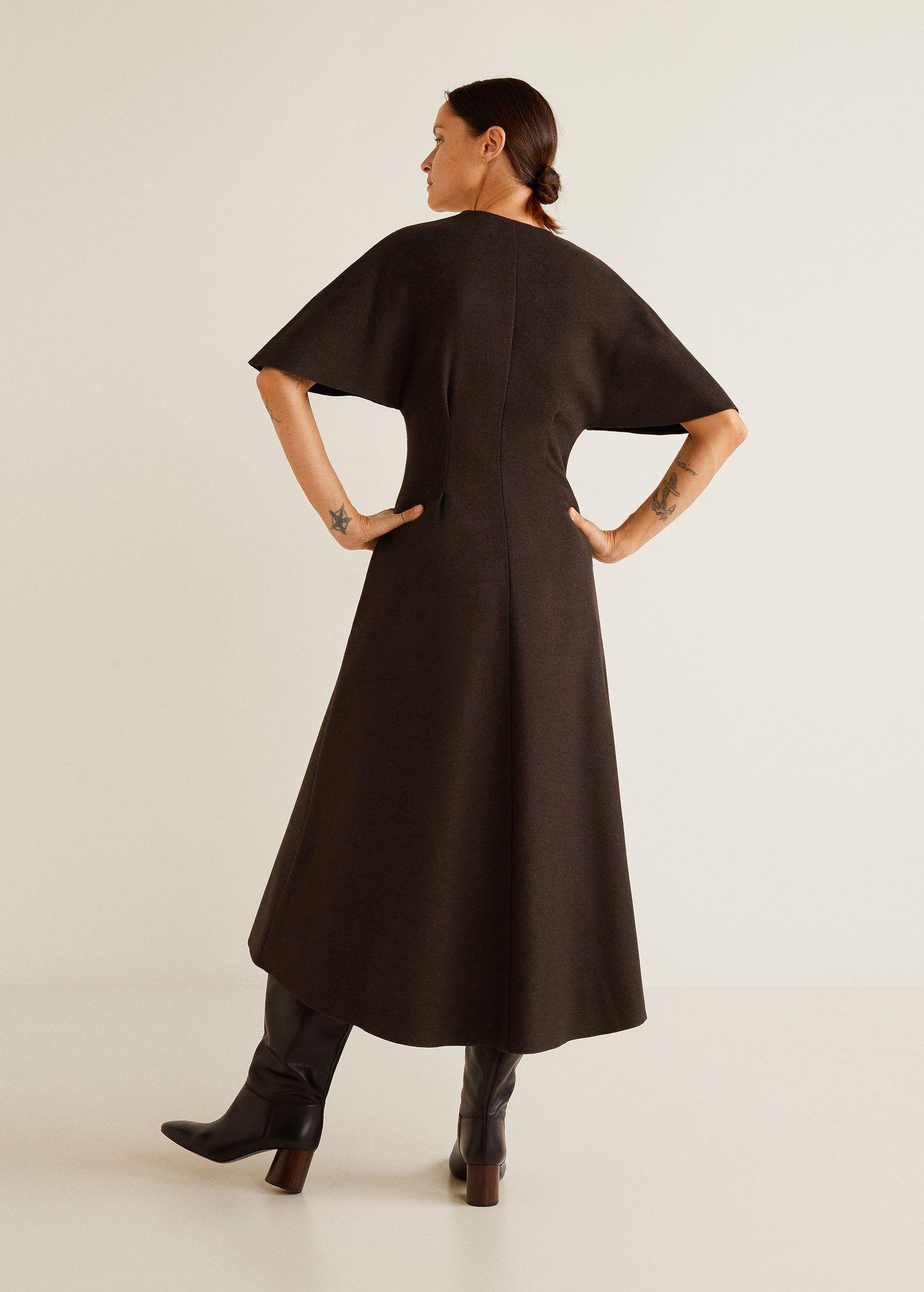 Recycled wool dress  Mode inspo, Wollkleid, Modestil