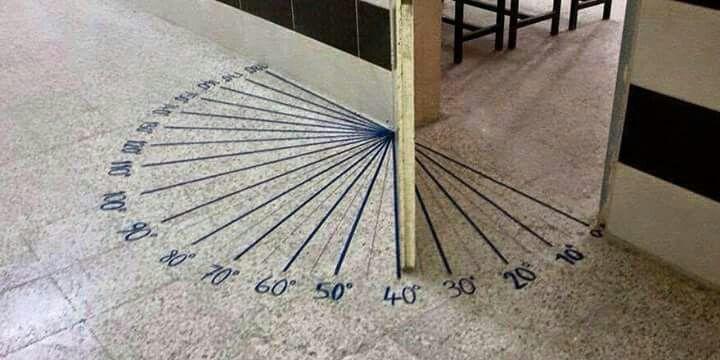 Ángulos en la puerta | Aula de matemáticas, Clase de matemáticas ...