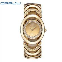 ae0be7a3a63 2016 Novas Mulheres De Luxo Assistir Marcas Famosas de Design de Moda Pulseira  de Ouro Relógios