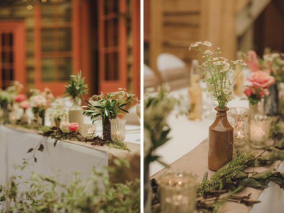 Romantic and enchanting auckland wedding lets get married romantic and enchanting auckland wedding flower tabletable decorationsaucklandflower junglespirit Choice Image