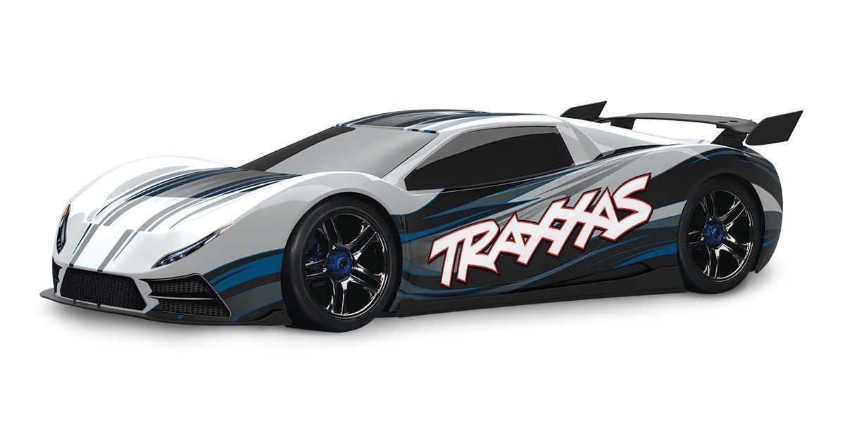 Traxxas 64077 Xo 1 Black Store Only Radio Control Super Cars Remote Control Cars