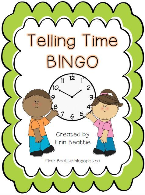 Telling time time to the 15s game blank bingo cards bingo telling time time to the 15s game solutioingenieria Image collections