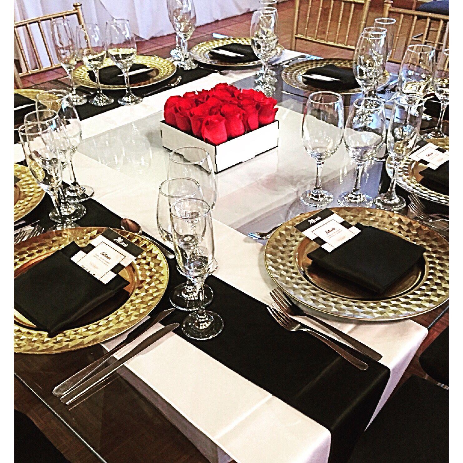 38+ Decoracion de mesas con mantel negro trends