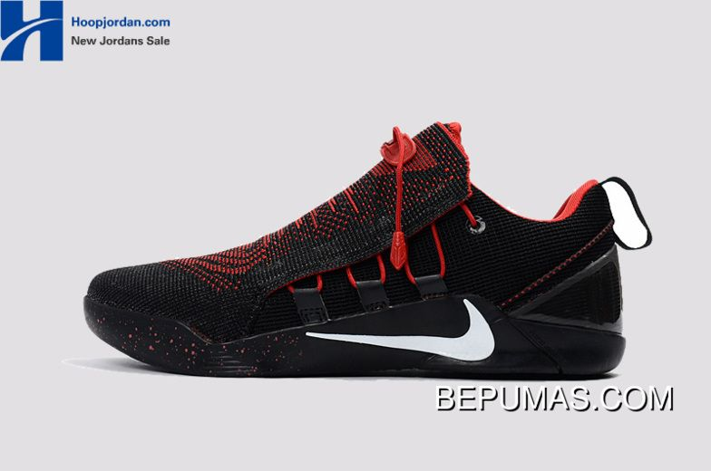 best service c47d9 bcd75 Nike Kobe A.D. NXT Black Red White Men s Basketball Shoes Discount   Kobe