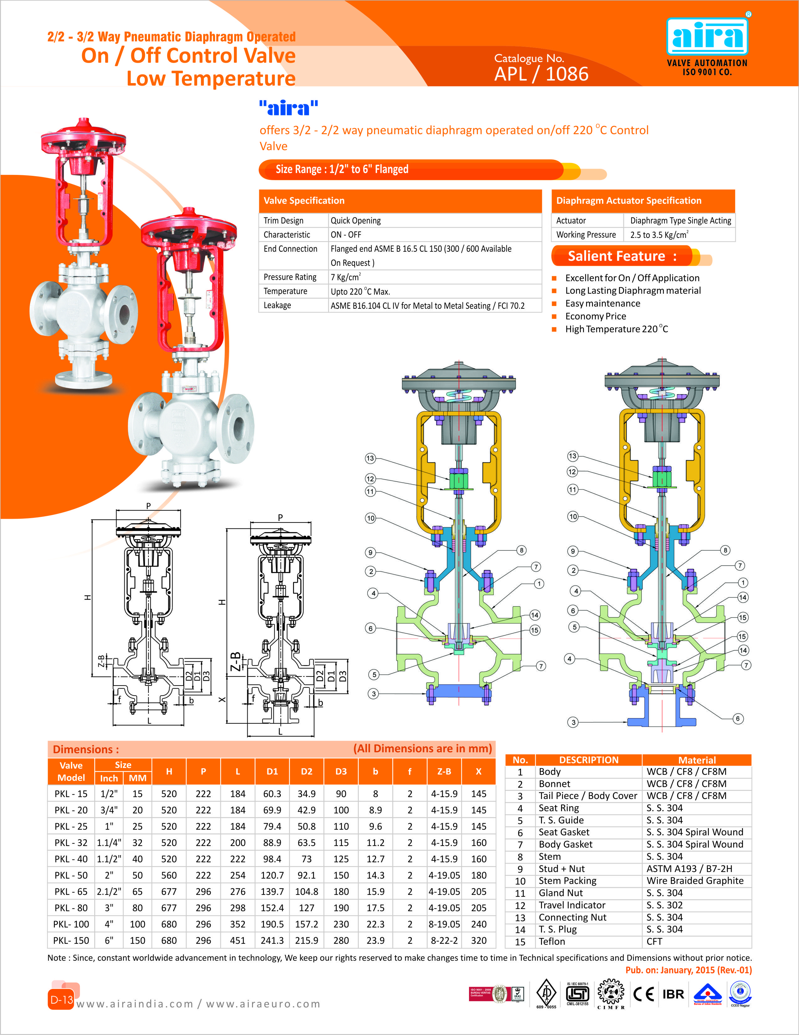 medium resolution of 2 2 3 2 way pneumatic diaphragm operated on off control valve low temperature for more info visit now www airaindia com