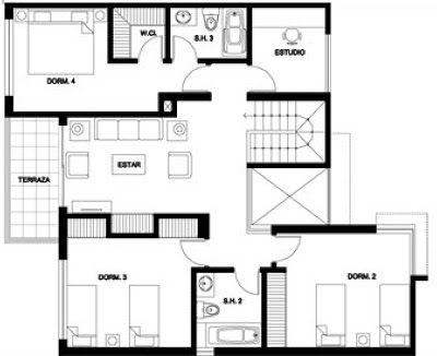 De 2 De Casas 8 Metris Planos Cuadrados De Pisos 10