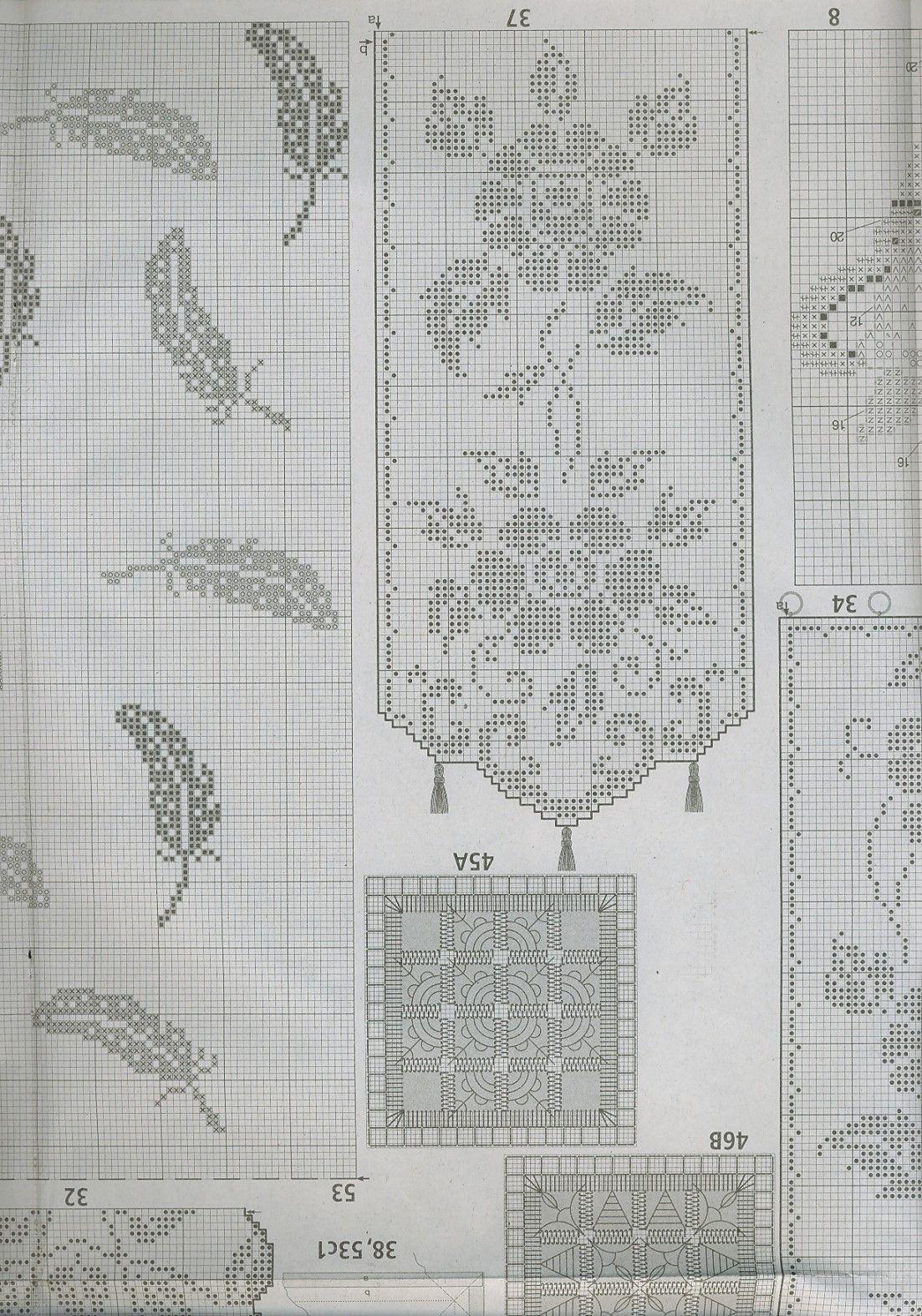marifet iltif ta t bidir gardinen h keln pinterest h keln gardinen h keln und stricken. Black Bedroom Furniture Sets. Home Design Ideas