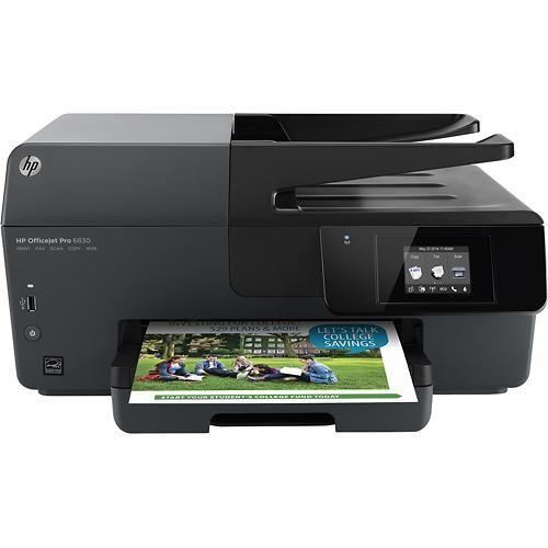 Hp Officejet Pro 6830 Wireless E All In One Printer Black