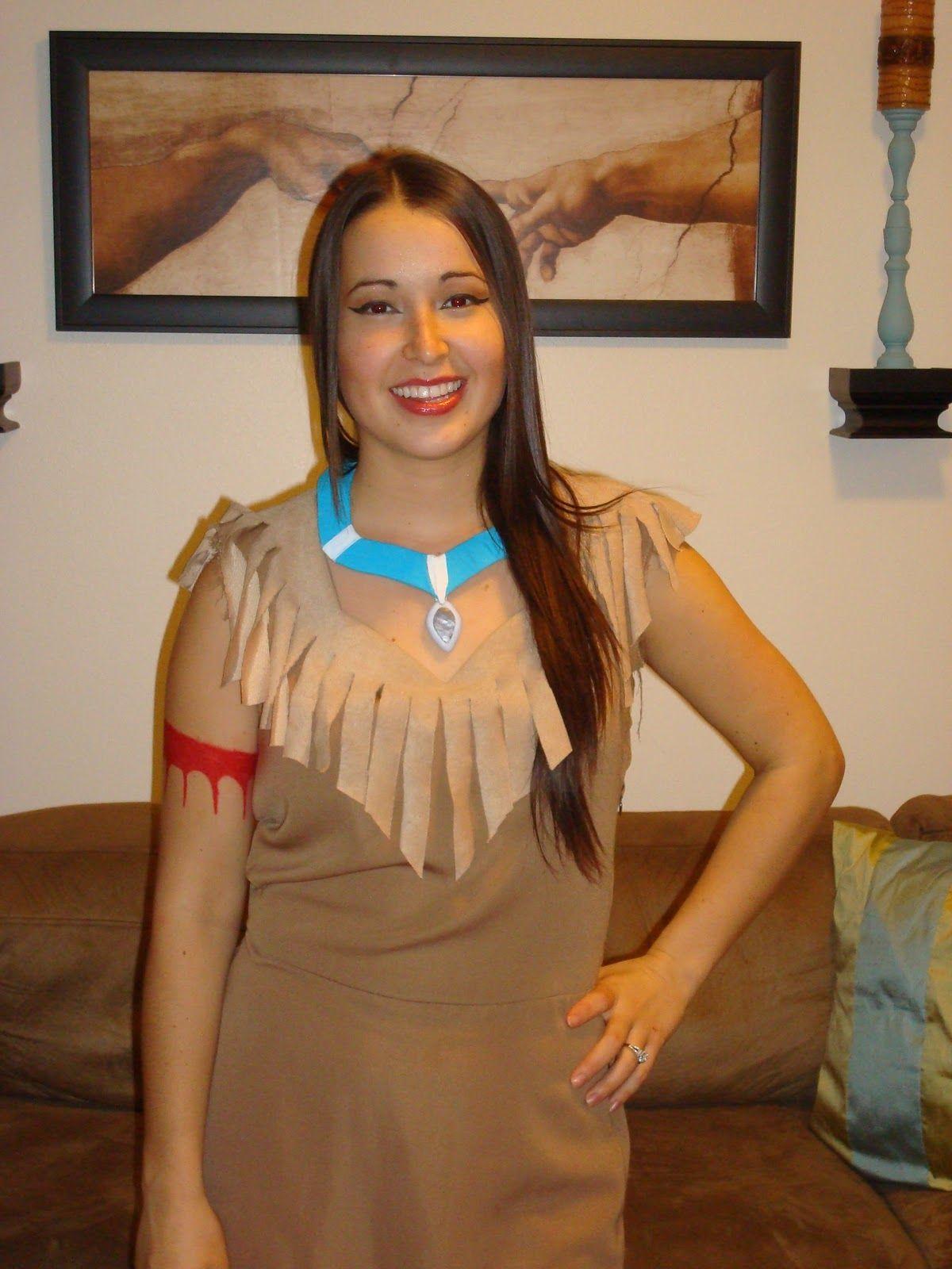 Diy Pocahontas Costume  My Full Costume Minus The -3140