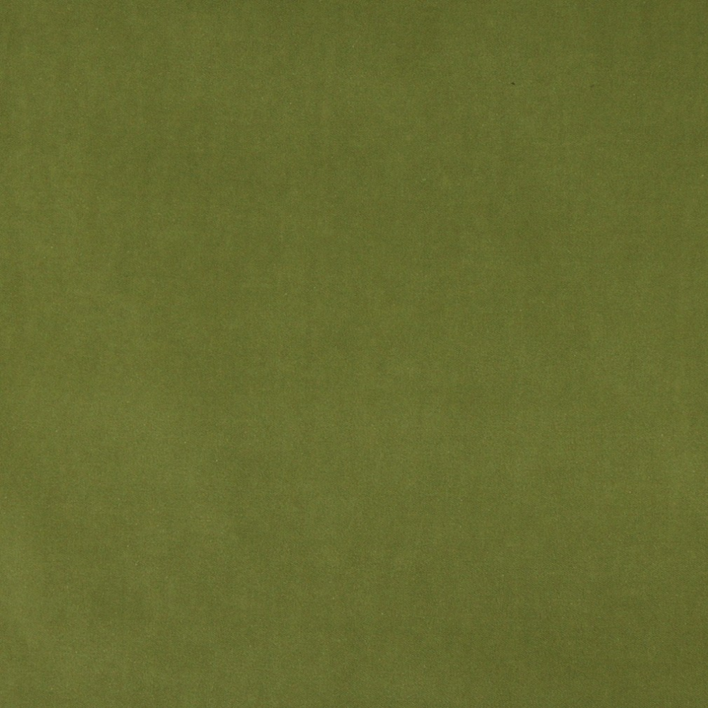 Green Authentic Cotton Velvet Upholstery Fabric By The Yard