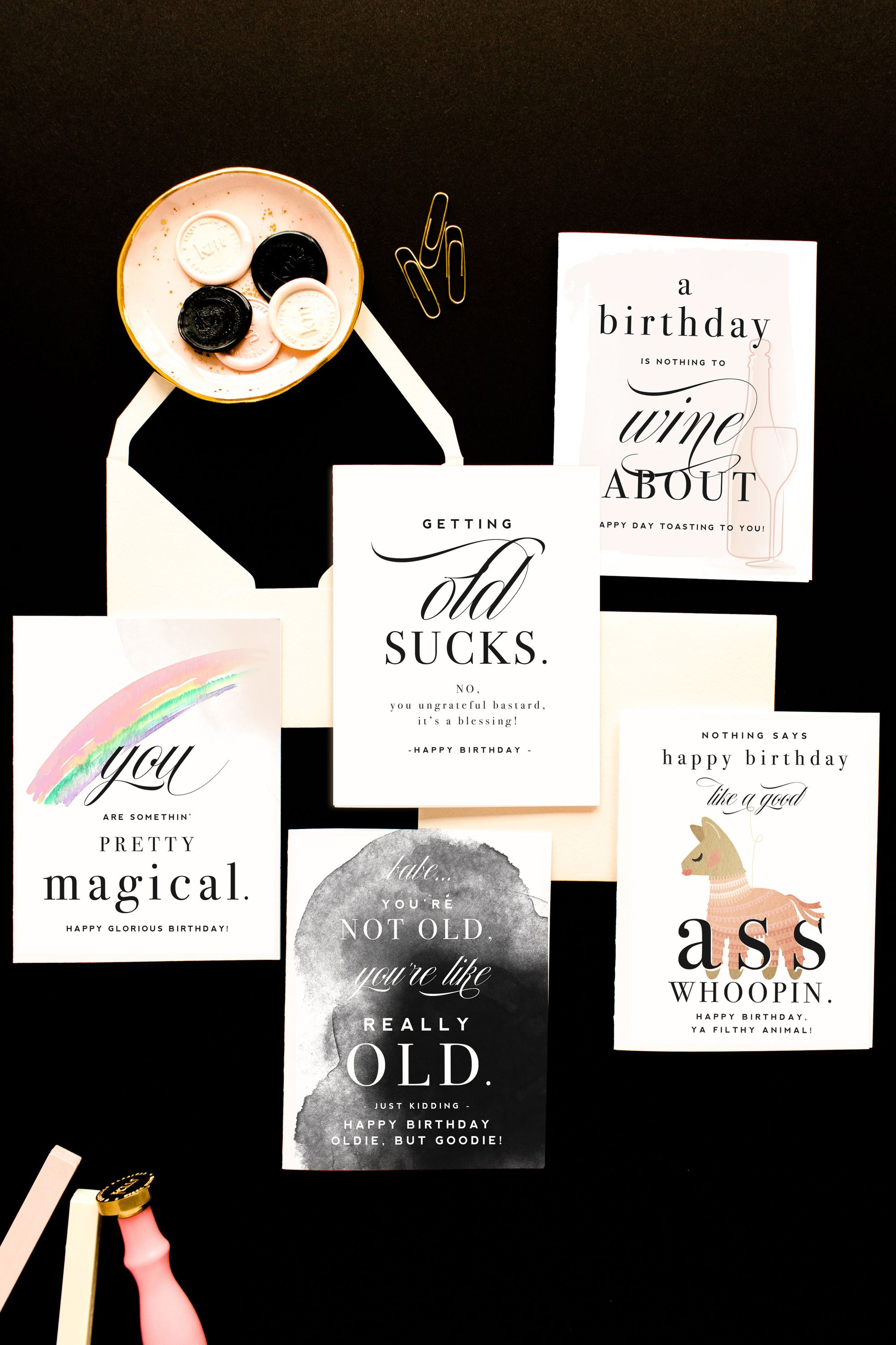 Happy Birthday Cards By Kitty Meow Boutique