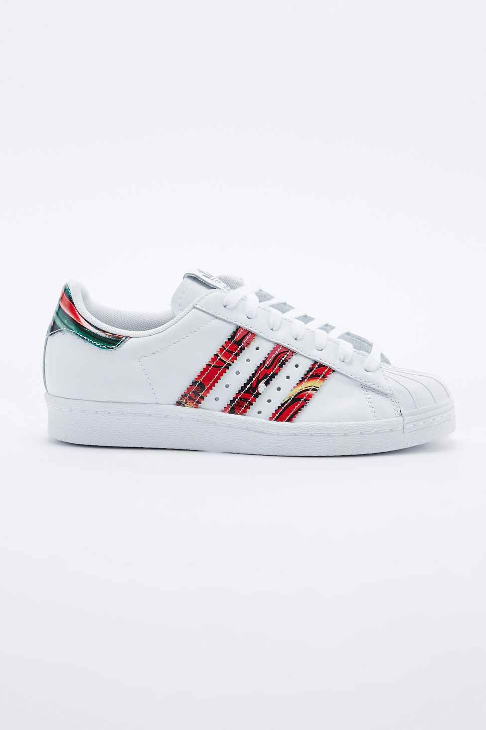 Adidas Rita Superstar 80s Trainers in White  cf552011c