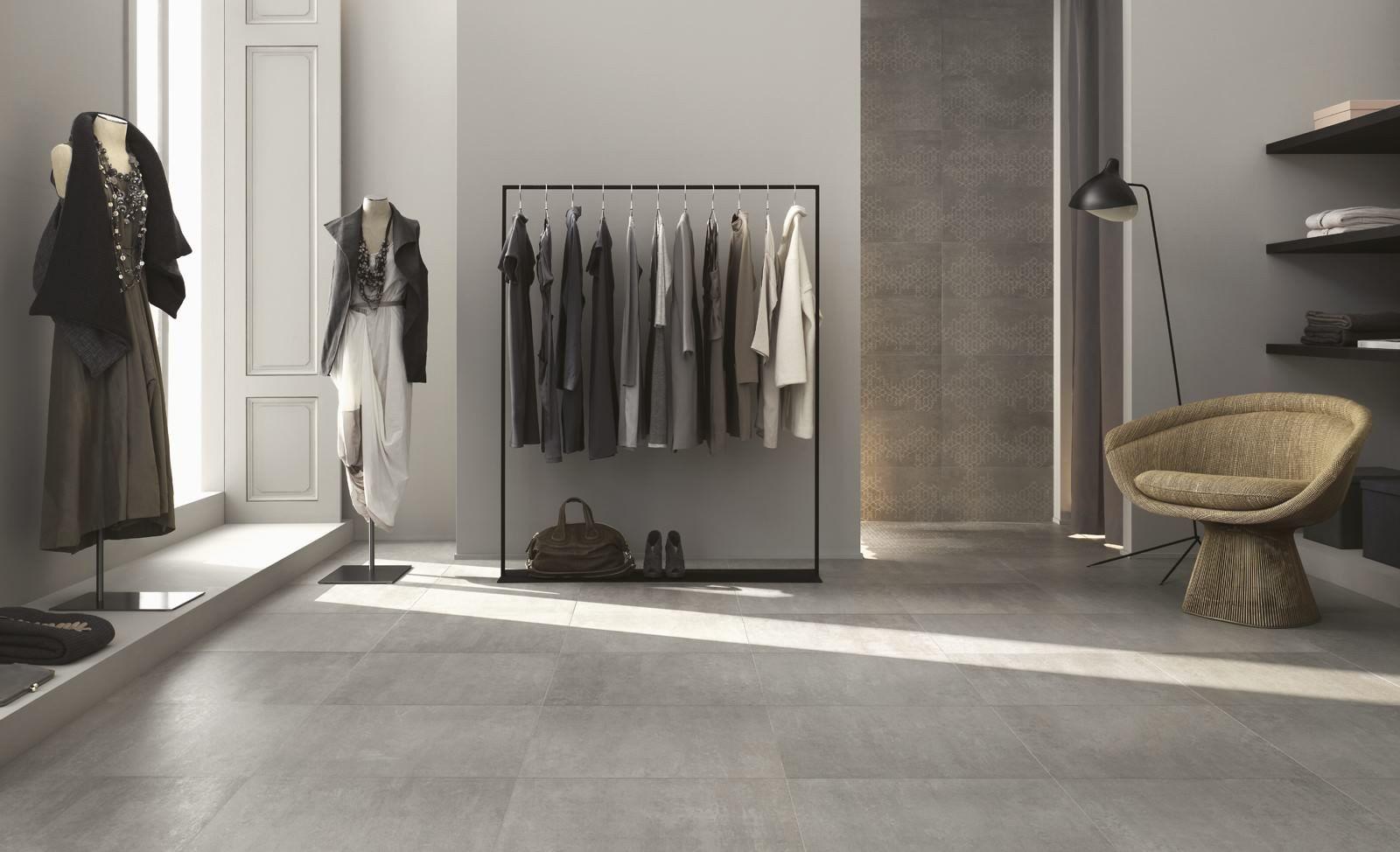 Ragno #concept grigio 45x45 cm r2xx #gres #cemento #45x45 su