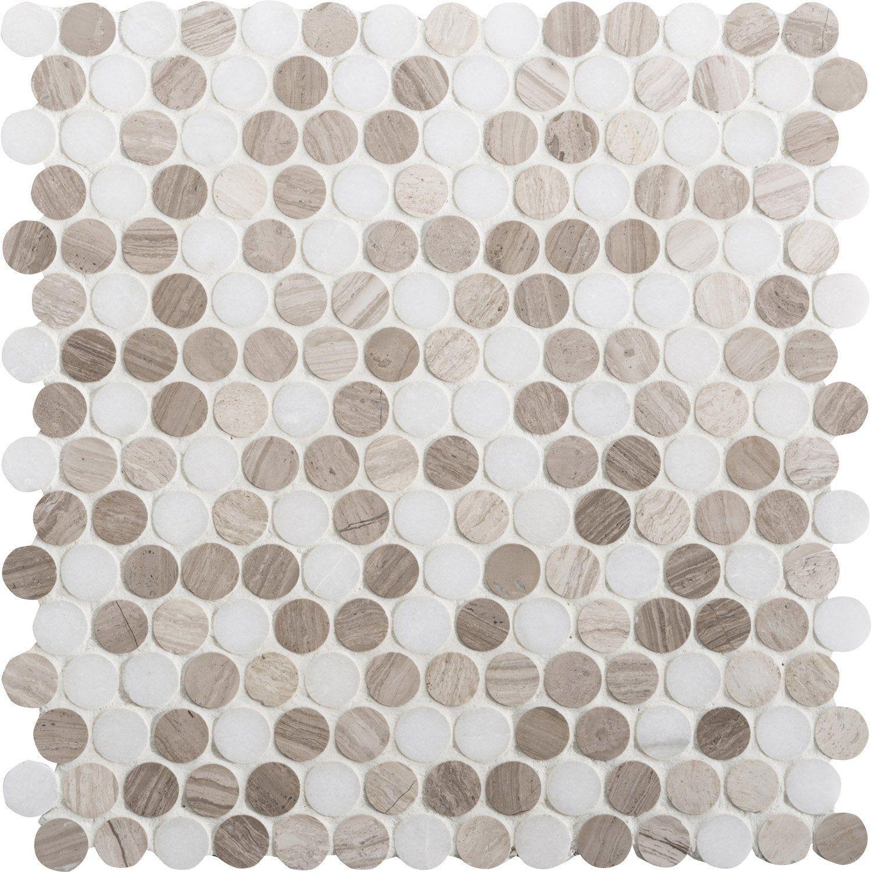 Marbre Blanc Sol Prix mosaïque sol et mur pastille marbre blanc et moka artens
