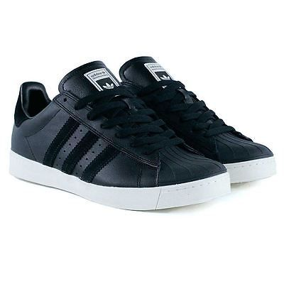 Cheap Adidas Skateboarding Superstar Vulc ADV: Black / Gold