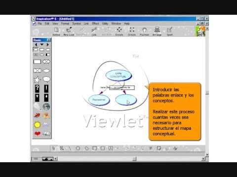 Descargar Inspiration Gratis Con Licenca Programa Para Hacer Mapas Conceptuales Digramas Etc Mapas Mapa Conceptual Hice
