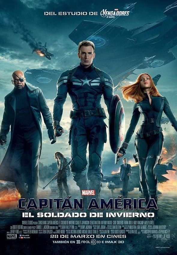 Nuevos Posteres Para Capitan America El Soldado Del Invierno Capitan America 2 Pelicula Capitan America Peliculas De Superheroes