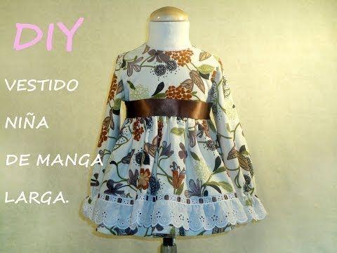 Diy Niña Vestido Larga De Costura Patronesmujer Manga Blog Pq7vIq