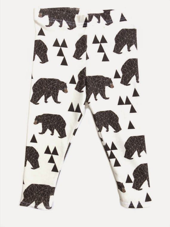 My favorite baby leggings from Etsy giveaway