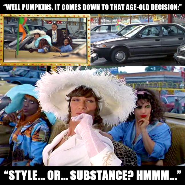 Image result for style or substance to wong foo