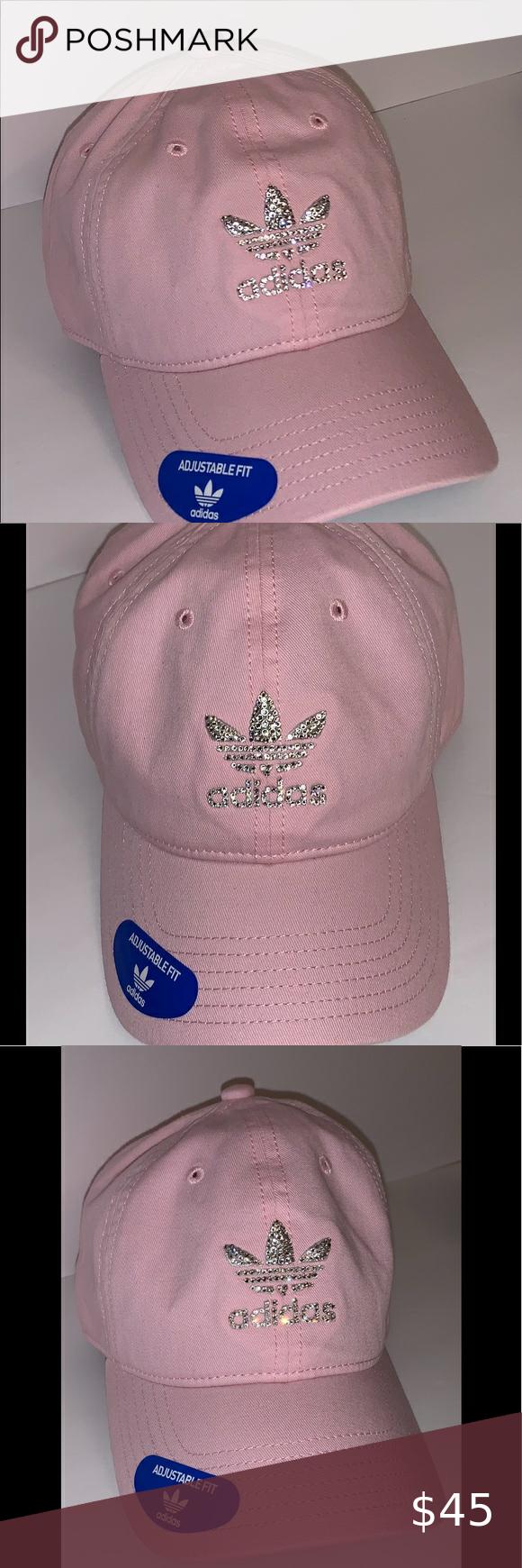 Adidas Swarovski Pink Hat Pink Hat Adidas Originals Women Pink Adidas