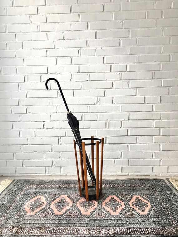 Möbel Aufbewahrung vintage schirmständer regenschirmständer teak mid century