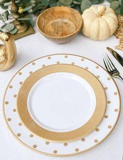 Elegant plastic dinnerware non-breakable plates nautical theme dinnerware dinnerware for boats & Elegant plastic dinnerware non-breakable plates nautical theme ...