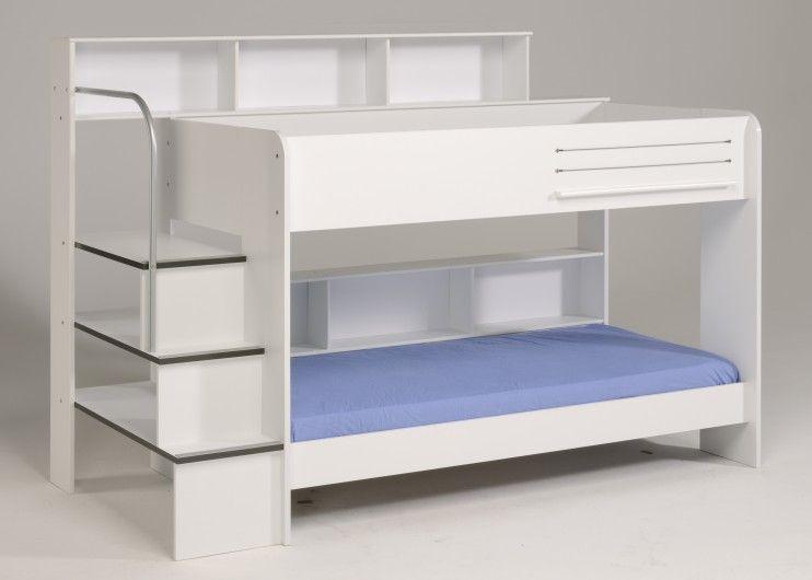 Etagenbett Bibop Gebraucht : Etagenbett stockbett bibop weiss ohne bettschubkasten 649