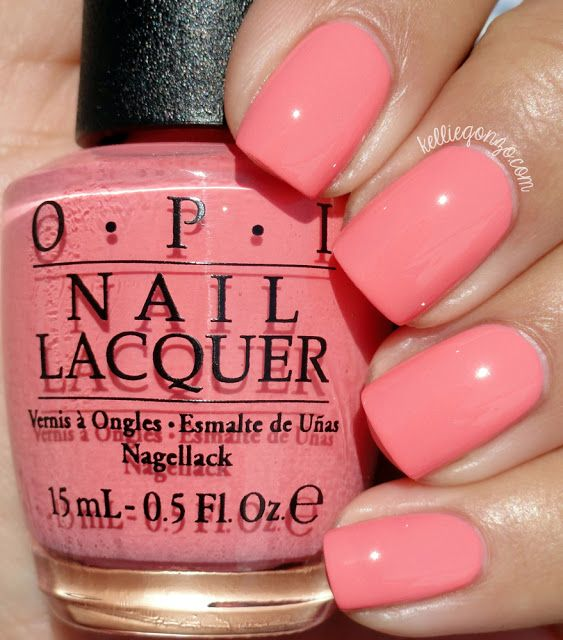 OPI Got Myself Into a Jam-balaya // @kelliegonzoblog | Nails ...