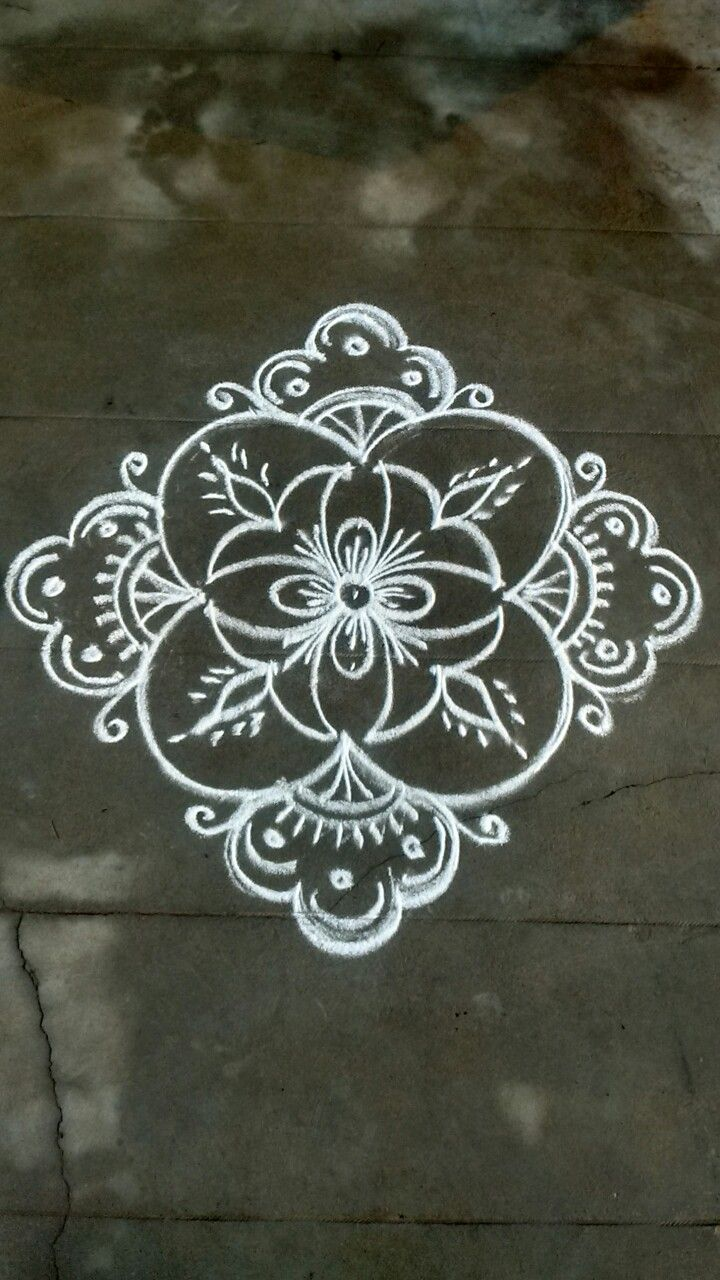 Pin by VENNILA VENKATACHALAPATHY on Kolam | Pinterest ...