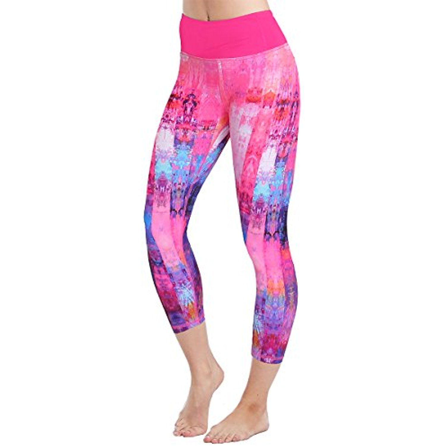 a8bc6c62696dcd Anjali Arya Printed Crop Yoga Leggings for Women ( Eco Friendly ) >>> You  can get additional details at the image link. (This is an affiliate link) #  ...