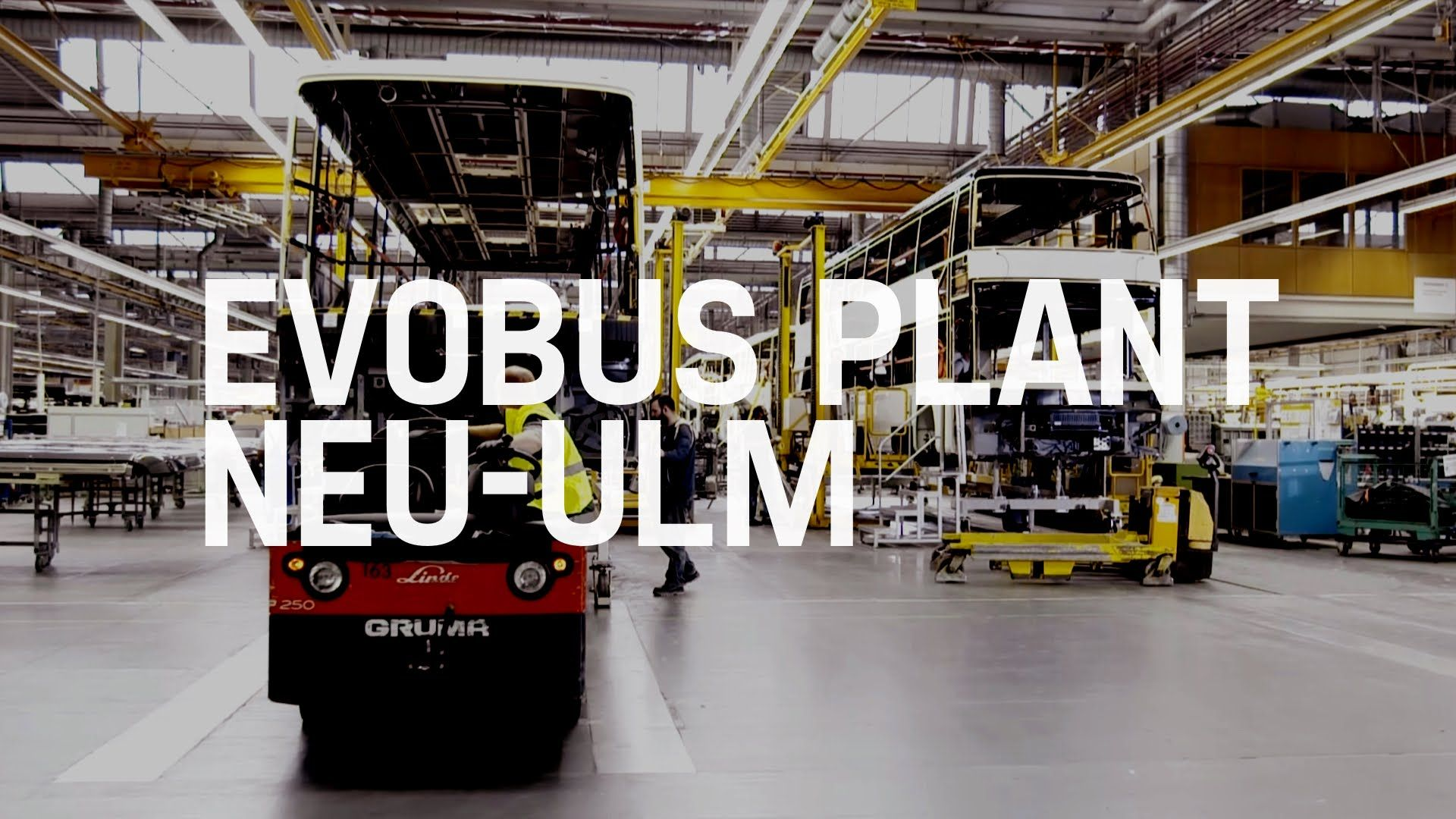 Setra Mercedes Benz Buses Production Evobus Plant Neu Ulm